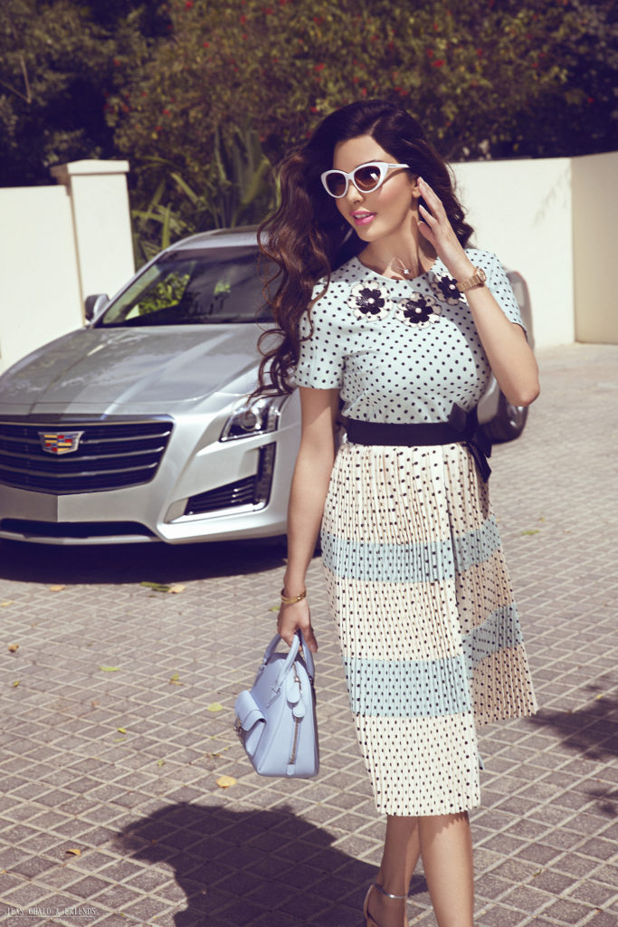 Snob Magazine Cadillac Shoot with Lamita FRANGIEH By Jean Ghalo