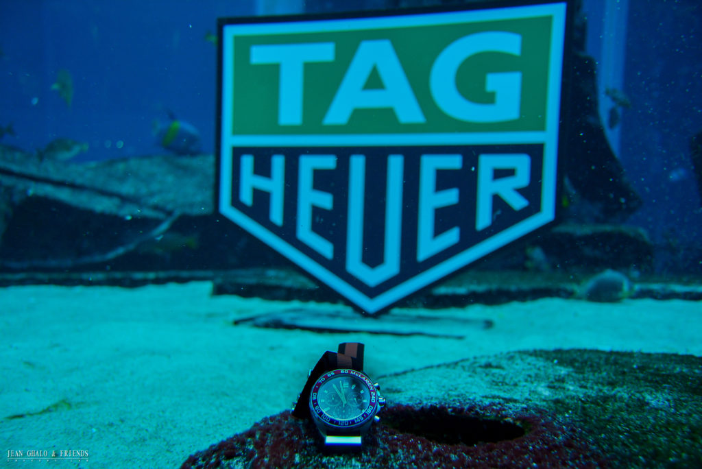 Tag Heuer Don't Crack Under Pressure