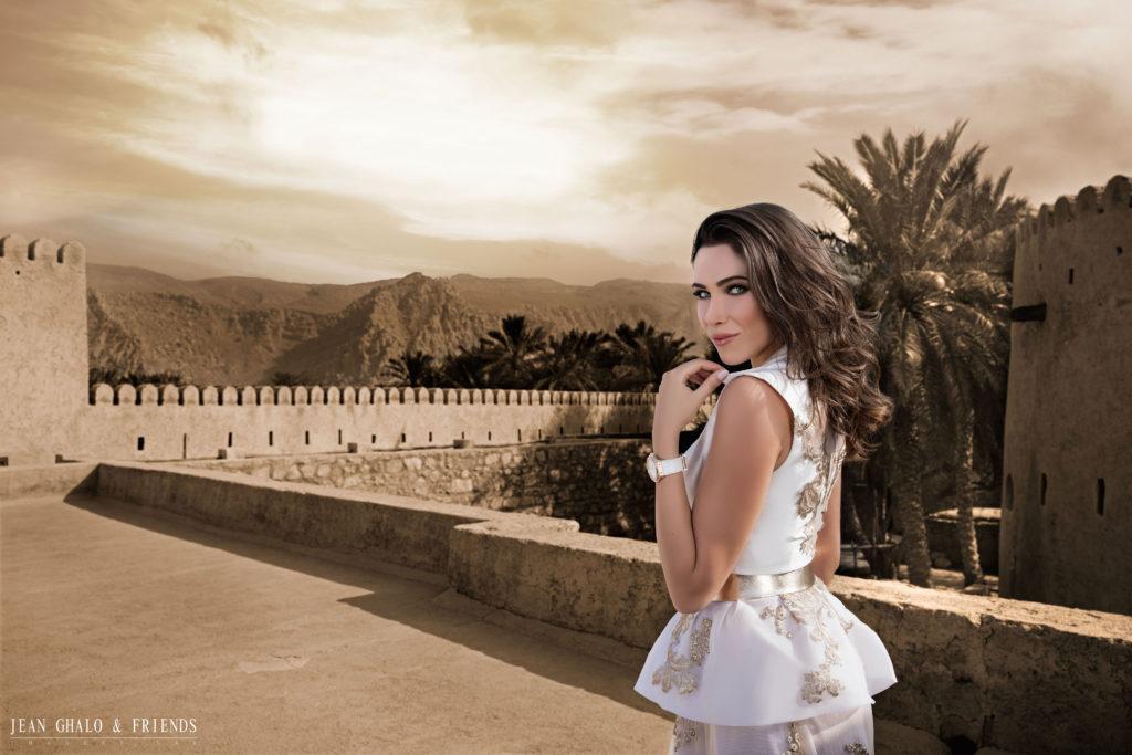 Daniella Rahmeh Hublot MEA Campaign Oman Behind The Scenes by Jean Ghalo & Friends