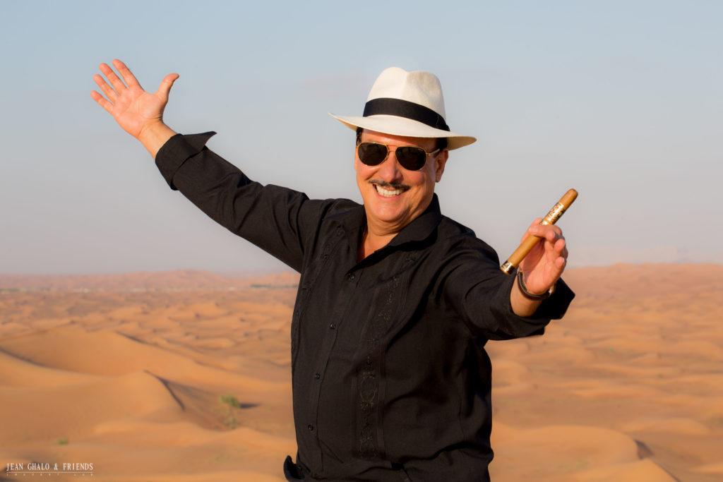 Carlos Carlio Fuente Jr. Desert Photoshoot