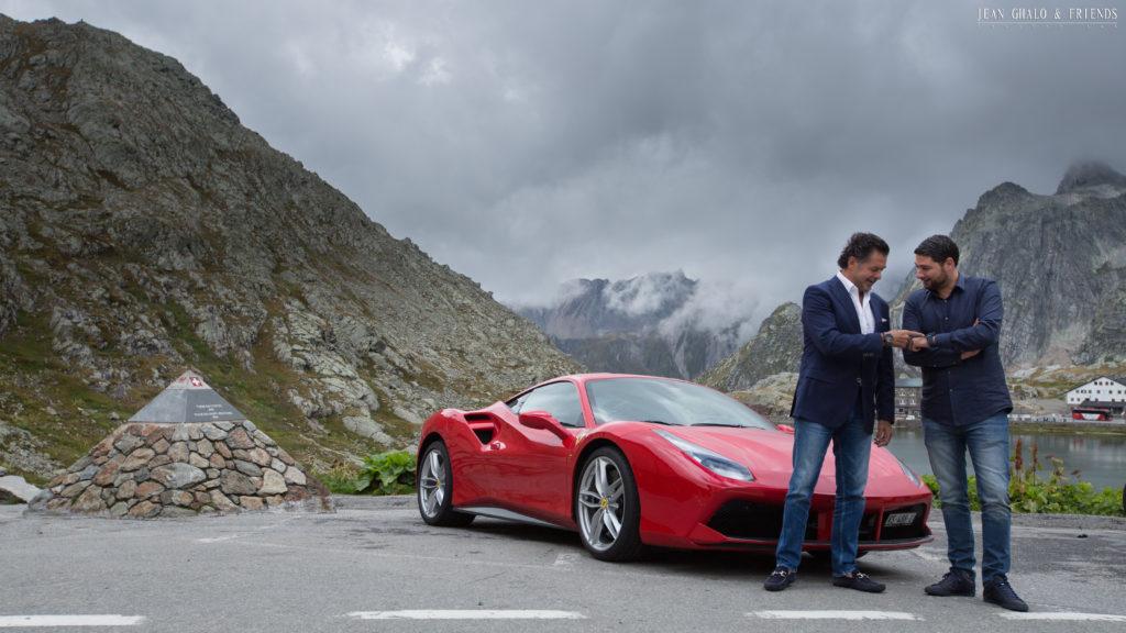 Hublot Ragheb Ferrari Ride Swiss Alps By Jean Ghalo