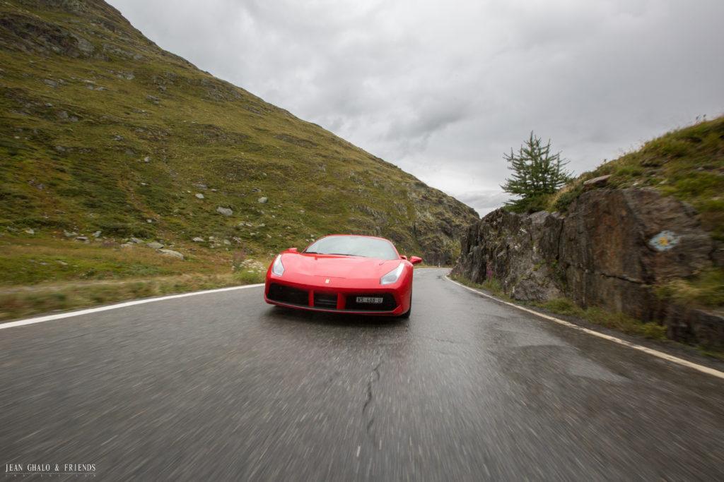 Hublot Ragheb Ferrari Ride Swiss Alps
