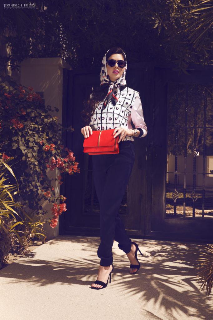 Snob Magazine Cadillac Shoot with Lamita FRANGIEH By Jean Ghalo